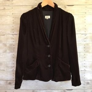 Fossil Luxurious Velvet Smoking Jacket Blazer - 4